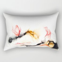 Ink_Coral Black Coffee Rectangular Pillow