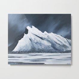 Mount Rundle Metal Print