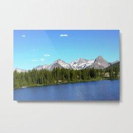 Molas Lake in the San Juan Mountains Metal Print