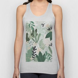 Into the jungle II Unisex Tank Top