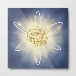 Nuclear power Metal Print