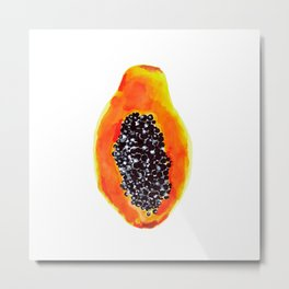 PAPAYA RICA Metal Print