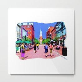 Vermont Street Painting Metal Print