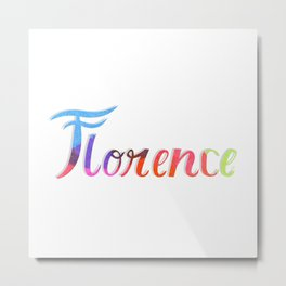 Florence (Italy) Metal Print