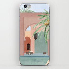 Moroccan Pool iPhone Skin