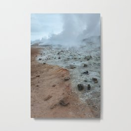 Geothermal wasteland Metal Print