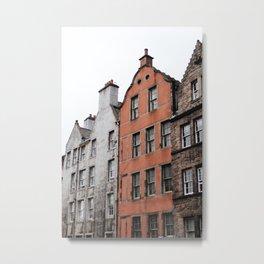 Victoria Street Edinburgh Scotland Metal Print