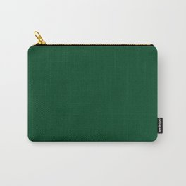 Forest Green (Traditional) - solid color Carry-All Pouch