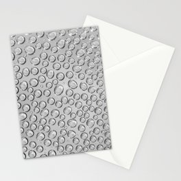 water drops on the glass Stationery Cards