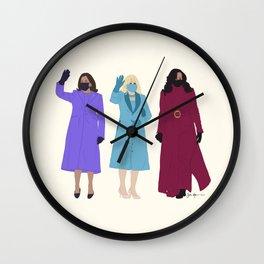 Inaugural Trio 2021 Wall Clock