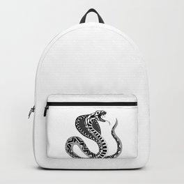 black king cobra pattern ecopop Backpack