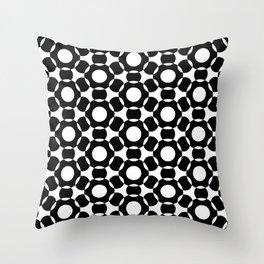 Modern Times 2.0 Pattern - Design No. 4 Throw Pillow