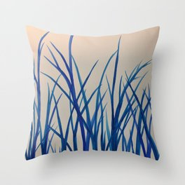 The grass is not greener on the other side Throw Pillow