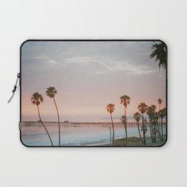 palm trees sunset vi / san clemente, california Laptop Sleeve