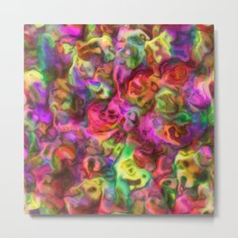 Colour Aquatica - Passion Pink Metal Print