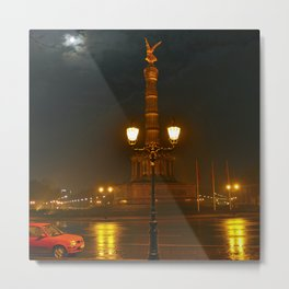 MOON-LIGHT BERLIN - Siegessaeule - Tiergarten Metal Print