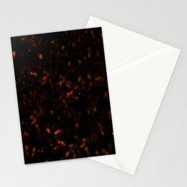 Dark Tortoise Shell Pattern Stationery Cards