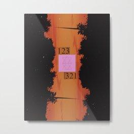 123 321 Metal Print