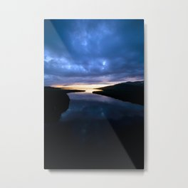 Mindnight Sunset Metal Print