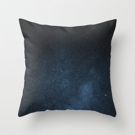 Foggy stars Throw Pillow