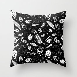 Welcome to Haddonfield! Throw Pillow