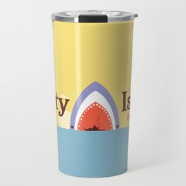 Welcome to Amity Island Travel Mug