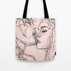 kiss more often Tote Bag