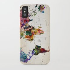 map iPhone X Slim Case