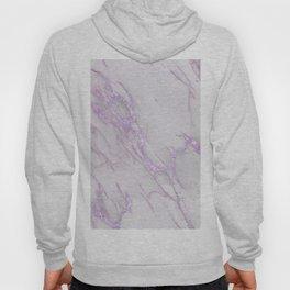 Marble Love Purple Metallic Hoody