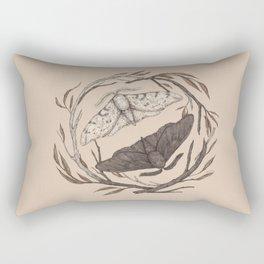 Peppered Moths Rectangular Pillow