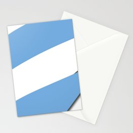 Team Argentina #russia #football #worldcup #soccer #fan Stationery Cards