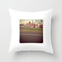 Carnies Throw Pillow