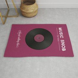 Vinyl. — Music Snob Tip #002 Rug