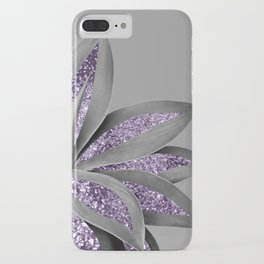 Agave Finesse Glitter Glam #4 #tropical #decor #art #society6 iPhone Case