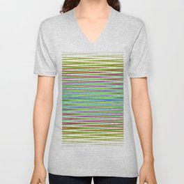 Rainbow too Unisex V-Neck