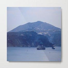 Santorini, Greece 8 Metal Print