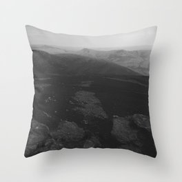 Dark Landscape 5 Throw Pillow