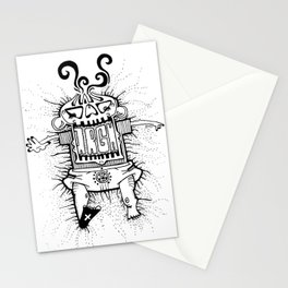 let the baby be Stationery Cards