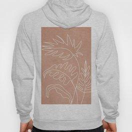 Engraved Plant Line Hoody