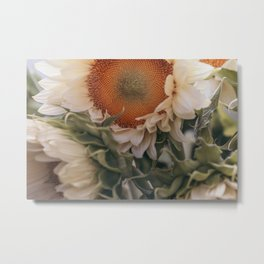 Market Flowers #1 Metal Print