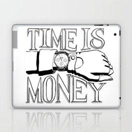 Time is Money Laptop & iPad Skin