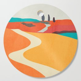 Landscape02 Cutting Board