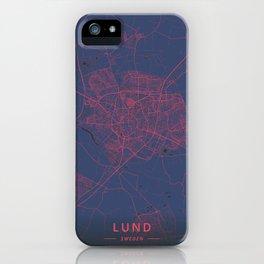 Lund, Sweden - Neon iPhone Case