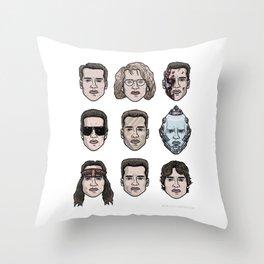 Schwarzenegger Throw Pillow