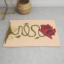 Antique Rose Rug