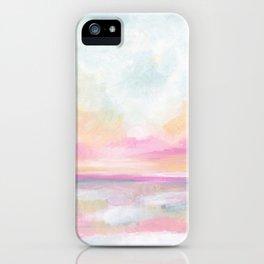 Peace, Love & Joy - Tropical Ocean Seascape iPhone Case