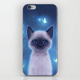 Siamese kitten iPhone Skin