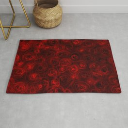 Red for Cy Rug