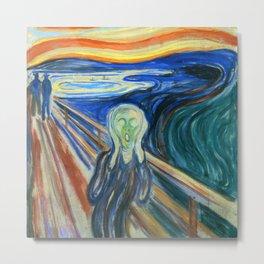"Edvard Munch ""The Scream"" (1910) Metal Print"