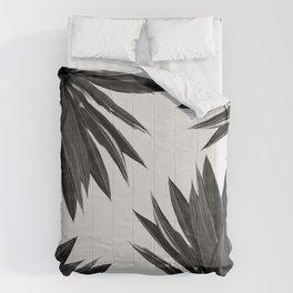 Agave Cactus Black & White Comforters